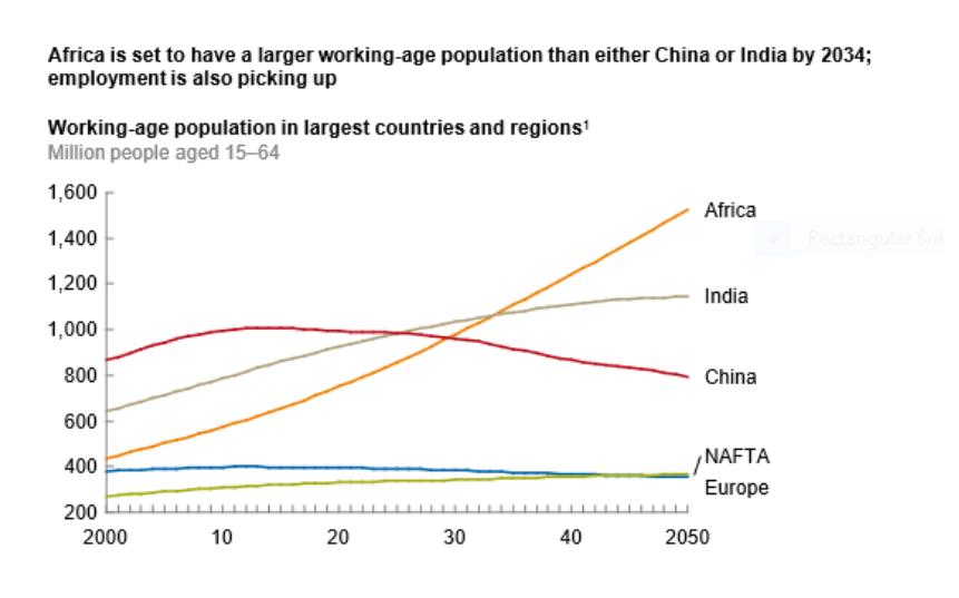 Exhibit 9 Africas workforce